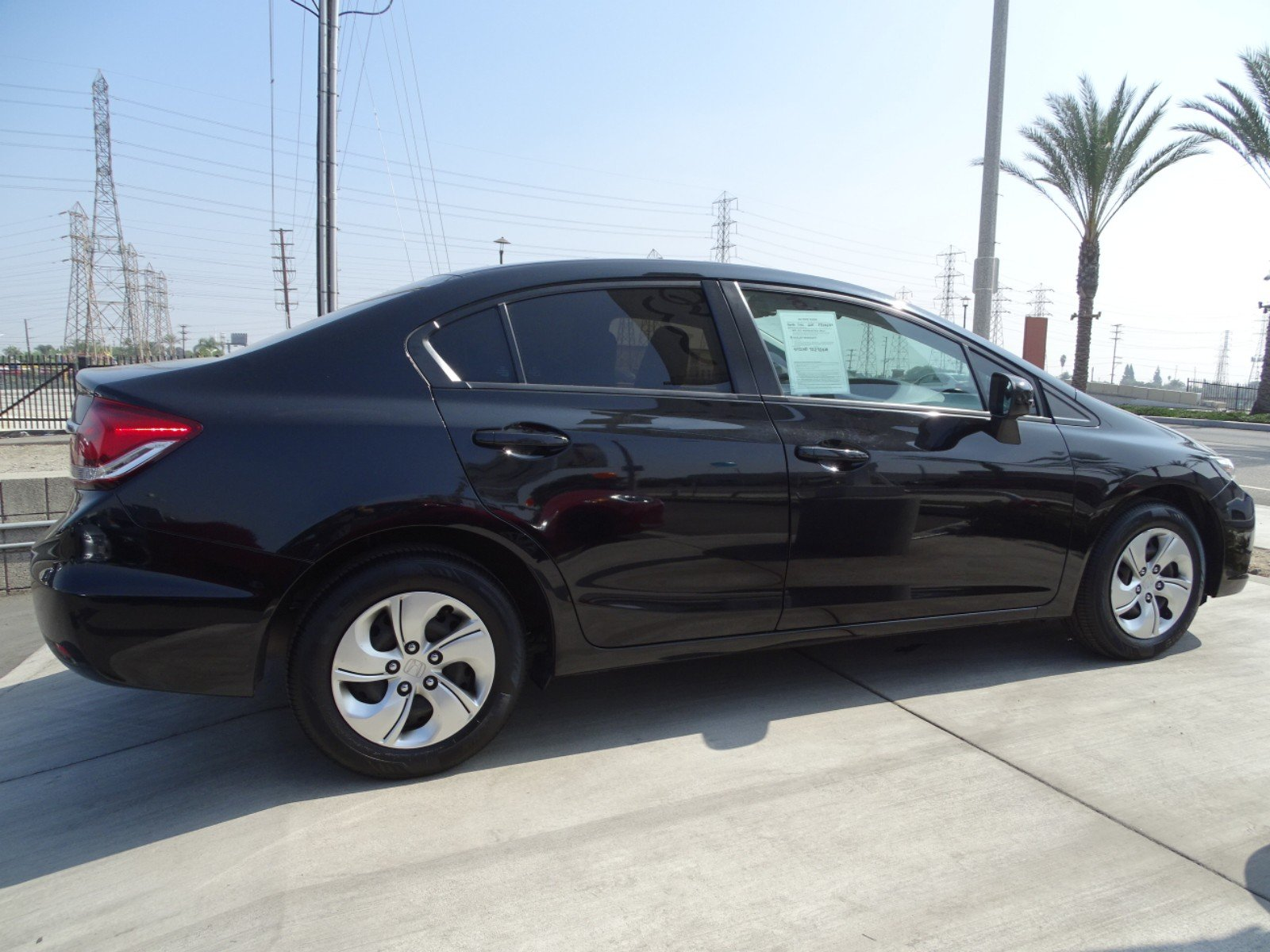 Pre Owned 2015 Honda Civic Sedan LX 4dr Car in Downey A