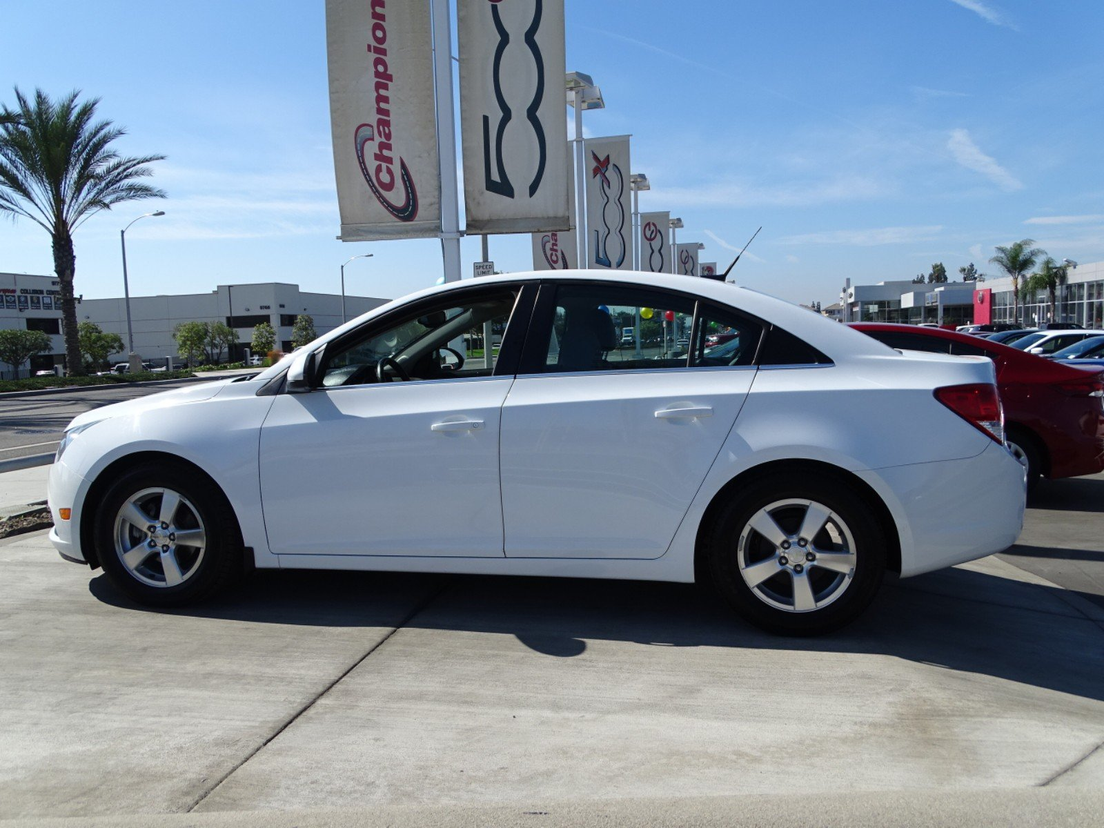 Superior Pre Owned 2013 Chevrolet Cruze 1LT 4dr Car In Downey #203739 | Champion FIAT