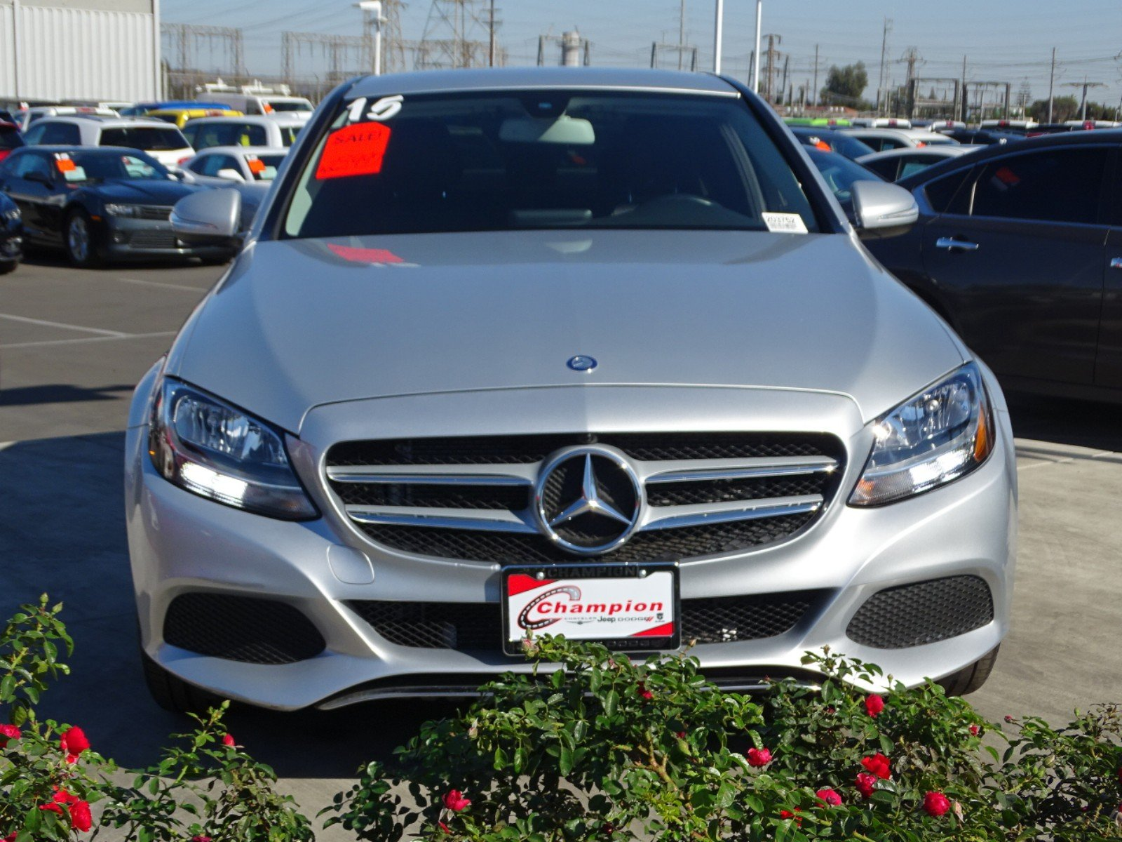 Pre Owned 2015 Mercedes Benz C Class C 300 4dr Car in Downey