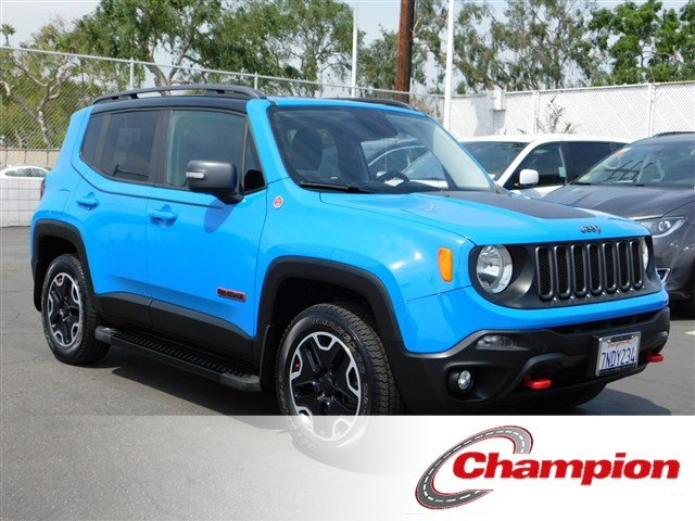 Pre Owned 2015 Jeep Renegade Trailhawk Sport Utility in Downey
